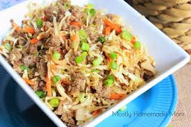 eggroll in a bowl video mostly homemade mom