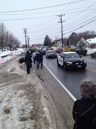 a hero u0027s welcome injured bourne police officer cheered upon