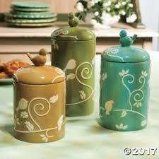 green canister sets kitchen canister sets ceramic foter
