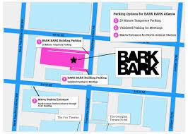 Atl Map Atlanta Directions Bark Bark