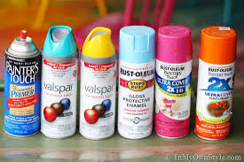 Valspar Satin Spray Paint - furniture makeover spray painting wood chairs in my own style