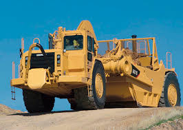cat 657g scraper caterpillar pinterest heavy equipment