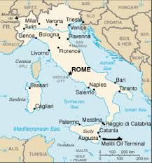 map of italy images map of italy terrain area and outline maps of italy countryreports