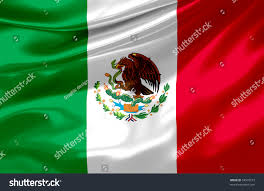 Mexixan Flag Satin Mexican Flag Stock Illustration 54910573 Shutterstock
