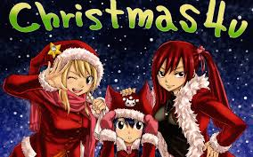 fairy tail anime fairy tail anime christmas wallpaper hd download background images