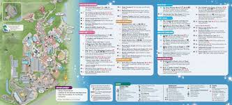 Disney World Magic Kingdom Map Parkscope The New Walt Disney World Guide Maps