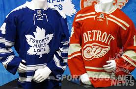 heritage uniforms and jerseys a detailed look at the 2014 winter classic jerseys chris creamer s