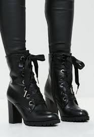 women u0027s boots faux leather and suede boots missguided