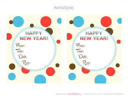 invitations for new years eve party free new year u0027s party printables catch my party
