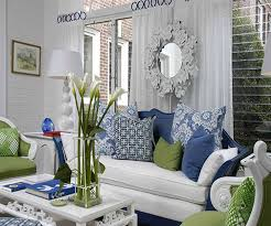 creative country blue living room home design great contemporary