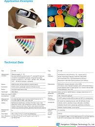 spectro paint color matching guide color tinting measurement