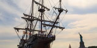 replica of spanish cargo ship visits port of rochester