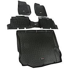 jeep wrangler mats amazon com mopar 82213860 jeep wrangler unlimited 4 door black