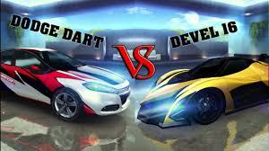 dodge dart gt top speed asphalt 8 dodge dart gt vs devel16