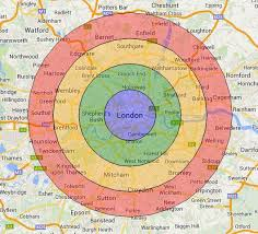 draw a radius on a map drawing concentric circles on a map free map tools