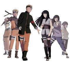 and hinata and hinata 2 render by weissdrum on deviantart