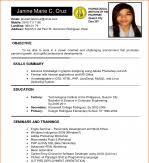 Resume Sample For Fresh Graduate Resume Sample Fresh Graduate Business