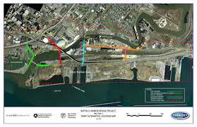 Buffalo New York Map Bridging Buffalo U0027s Harbors U2013 Buffalo Rising