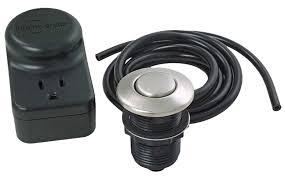 insinkerator sink top switch insinkerator 76703 single sink top switch plastic chrome plated