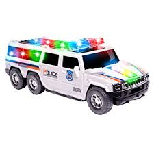 toy police cars with working lights and sirens for sale amazon com police toy car for kids by ciftoys suv cop car with