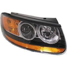 hyundai santa fe light replacement hyundai santa fe headlights at auto parts
