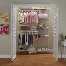 engaging closetmaid shelftrack closet organizer kit with shoe