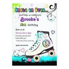 birthday party invitation ideas ice skating birthday party