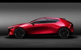 what car mazda mazda konceptai kai concept hečbekas ir vision kupė 98 lt