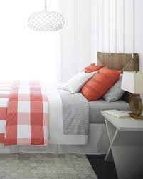 Red Gingham Duvet Cover Gingham Duvet Cover Coral Serena U0026 Lily