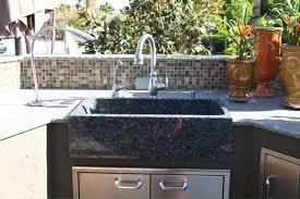 outdoor kitchen sinks ideas enchanting outdoor kitchen sink luxury age of