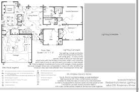 Electrical Plan by Residential Lighting By Amanda Dodd At Coroflot Com