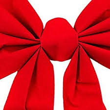 large gift bow velvet 6 loop bow for wreath decorations gifts