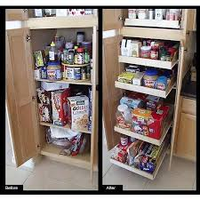cabinet pull out shelves kitchen pantry storage rolling shelves 21 in express pullout shelf rsxp 21 the
