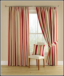 Yellow Striped Curtains Yellow And Red Curtains Inspiration Mellanie Design