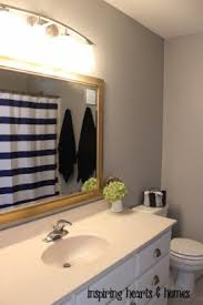 Benjamin Moore Gray Owl Bathroom - favorite gray paint colors in our home
