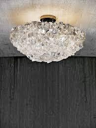 Rock Crystal Chandeliers Rock Crystal Ceiling Fixture Rock Crystal Collection U003e U003e Cl