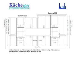 what is the standard height of residential kitchen base cabinets