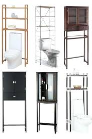 over toilet storage ideas custom over the toilet storage solutions
