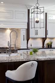 White Kitchen Cabinets With Granite Countertops Alaska White Granite Countertop Design Ideas
