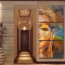 cheap wall art wall art cheap artwork for sale large wall art for framed hd print 3 pcs canvas wall art abstract golden buddha painting modern home decor for