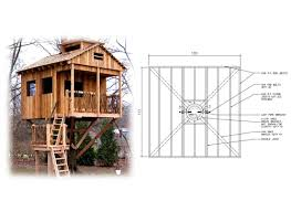 treehouse home plans 10 square treehouse plan standard treehouse plans attachment tree