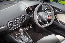 audi dashboard 2017 audi tt rs roadster 2 5 tfsi review motor verso