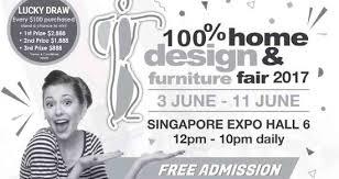 home design expo singapore 3 11 jun 2017 100 home design furniture fair 2017 at singapore