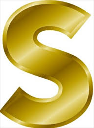 S Free Gold Letter S Clipart Free Clipart Graphics Images And