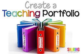 create a teaching portfolio sharing kindergarten