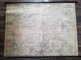 Dead Frontier Map Found This Cool Hotchkiss Map Of Denver At Salvation Army Denver