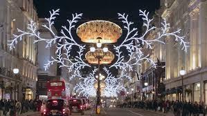 london dec 17 christmas lights on regent street in london u0027s