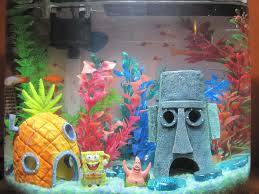 Spongebob Room Decor by Spongebob Fish Tank Decorations