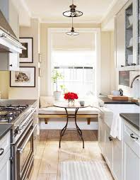 inside a manhattan apartment with rustic charm galley kitchens