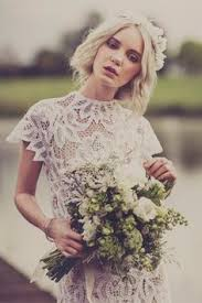 vintage edwardian style lace wedding dresses made from antique